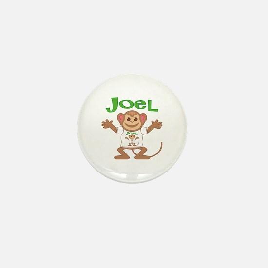 Little Monkey Joel Mini Button