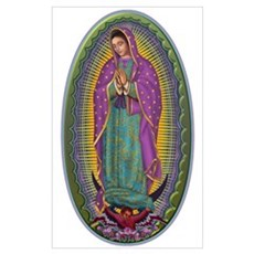 15 Lady of Guadalupe Poster