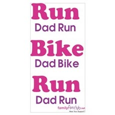 Duathlon Dad Poster