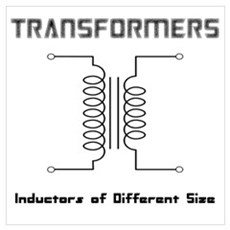 Transfomers Inductors of Different Size Poster