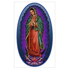 5 Lady of Guadalupe Poster