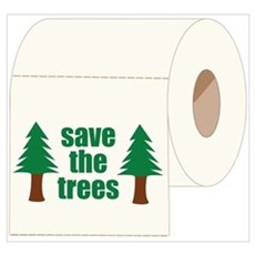 Save The Trees! Canvas Art