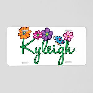 Kyleigh Flowers Aluminum License Plate