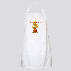 Fire Goddess BBQ Apron