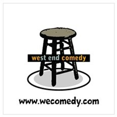 West End Comedy Framed Print