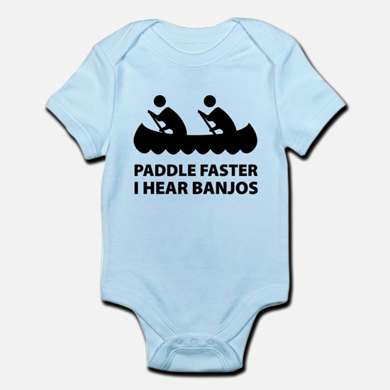 Paddle Faster Infant Bodysuit