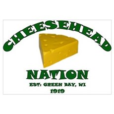 Cheesehead Nation Canvas Art