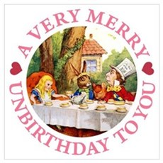 A VERY MERRY UNBIRTHDAY Poster
