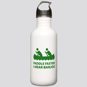 Paddle Faster Stainless Water Bottle 1.0L