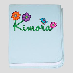 Kimora Flowers baby blanket