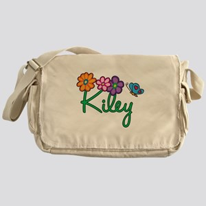 Kiley Flowers Messenger Bag