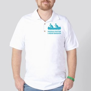 Paddle Faster Golf Shirt