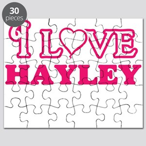 I Love Hayley Puzzle