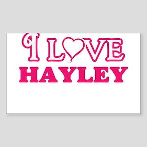 I Love Hayley Sticker