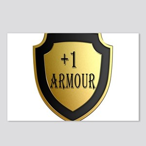 Plus 1 Armour Shield Postcards (Package of 8)