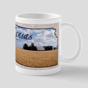 kansasMap28 Mugs