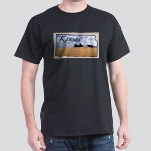 kansasMap28 T-Shirt