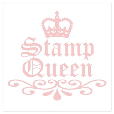Stamp Queen Poster