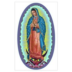 1 Lady of Guadalupe Poster