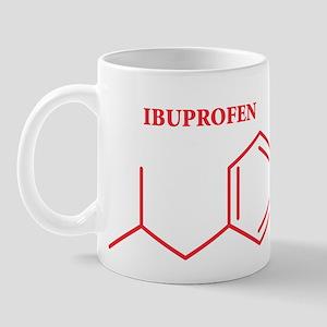 Ibuprofen Molecule Mug