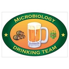 Microbiology Team Canvas Art