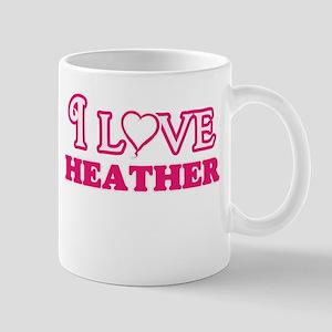 I Love Heather Mugs