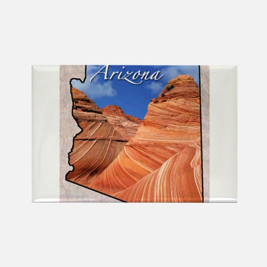 Cute 50 united states Rectangle Magnet