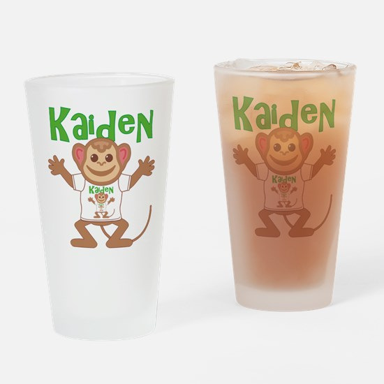 Little Monkey Kaiden Drinking Glass