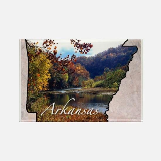 ArkansasMap28 Magnets