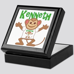 Little Monkey Kenneth Keepsake Box