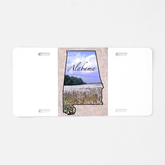 Cute Alabama Aluminum License Plate