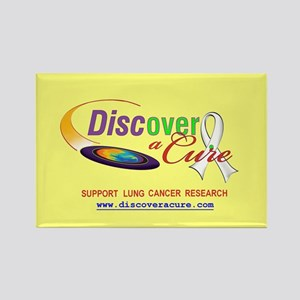 DISCover A Cure Rectangle Magnet