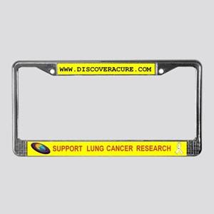 DISCover A Cure License Plate Frame