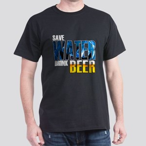 Save Water Drink Beer Dark T-Shirt