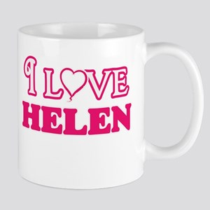 I Love Helen Mugs
