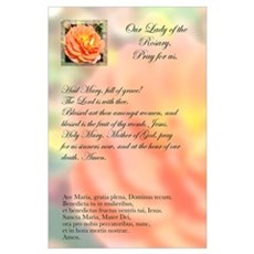 Autumn Rose Ave Maria Poster