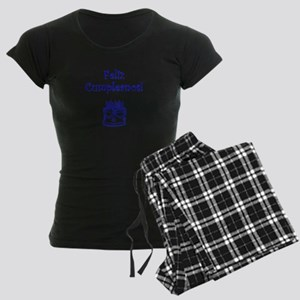 Spanish Birthday Blue Women's Dark Pajamas