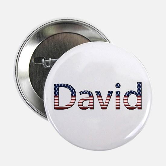 David Stars and Stripes Button