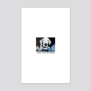 Sheepdog Mini Poster Print
