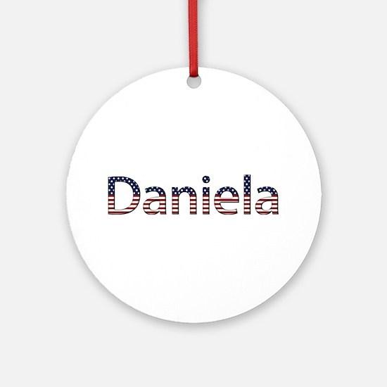 Daniela Stars and Stripes Round Ornament