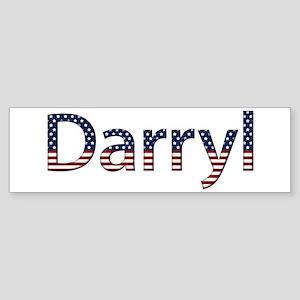 Darryl Stars and Stripes Bumper Sticker