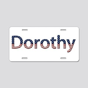 Dorothy Stars and Stripes Aluminum License Plate