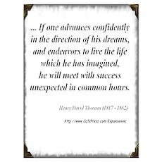 (Success - Thoreau - C) Poster