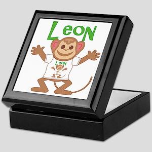 Little Monkey Leon Keepsake Box