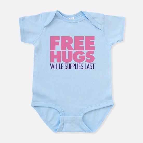 Free Hugs Pink Infant Bodysuit
