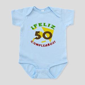 Feliz Cumpleaños (50) Infant Bodysuit