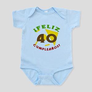 Feliz Cumpleaños (40) Infant Bodysuit