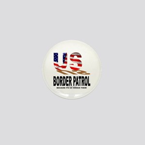 US Border Patrol Mini Button
