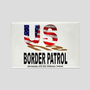 US Border Patrol Rectangle Magnet