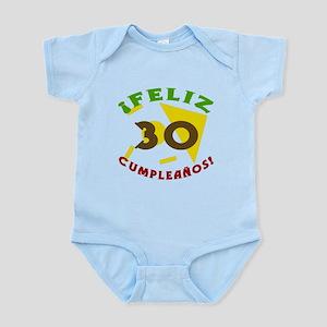 Feliz Cumpleaños (30) Infant Bodysuit